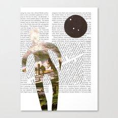 Media Landscape Walkers 2 Canvas Print