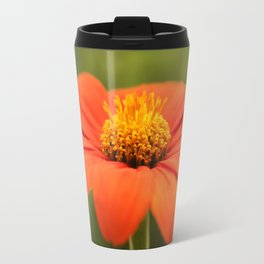 Mexican Sunflower in Bloom Travel Mug