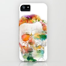 Abraham (Abe) Lincoln Skull Watercolor Slim Case iPhone (5, 5s)