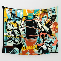 Sunday Wall Tapestry