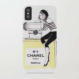 Dreaming Of Chnl iPhone Case