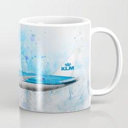 Klm Boeing 787 Dreamliner Coffee Mug