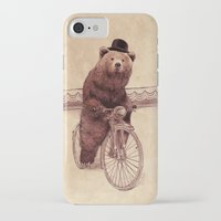 jazzberry iPhone & iPod Cases featuring Barnabus by Eric Fan