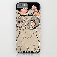 lady owl ready for the fall iPhone 6s Slim Case