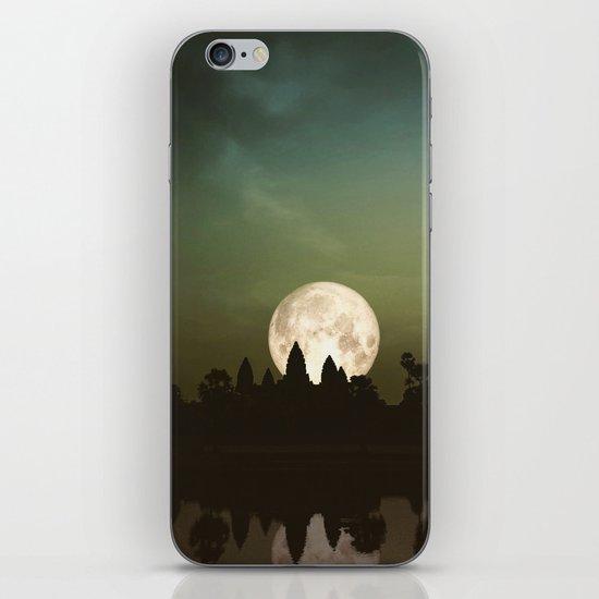 Angkor Wat Super Moon iPhone Skin