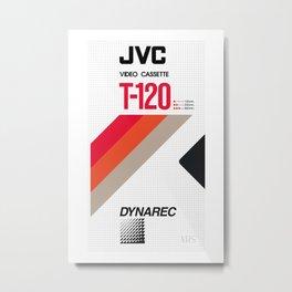 JVC VHS Metal Print