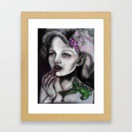 Mechanical Lady Framed Art Print