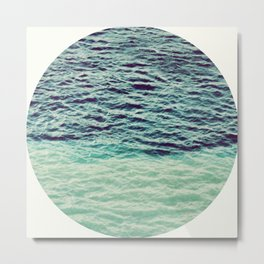 Ocean Colors Metal Print