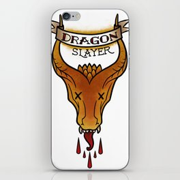 Dragon Slayer iPhone Skin