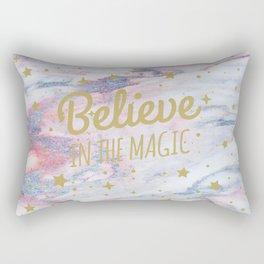 Believe in The Magic Rectangular Pillow