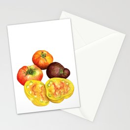 Heirloom Beefsteak Tomatoes Stationery Cards