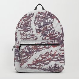 Persian typography Backpack