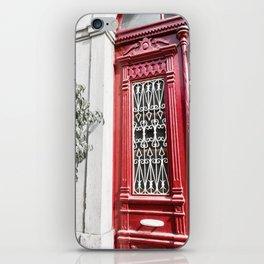 Red Lisbon iPhone Skin