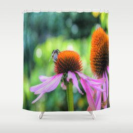 Nature's Worker Shower Curtain