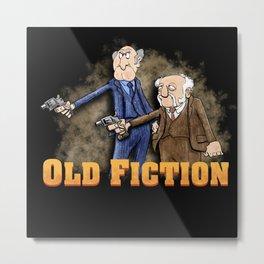 Old Fiction Metal Print