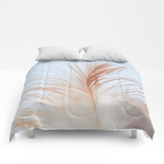 FEATHER cream look - animal colletion Comforters