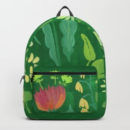 Sweet Flowers and Stems Backpack