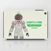 ripley iPad Cases featuring Nostromo Spacesuit Alien by avoid peril