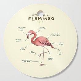 Anatomy of a Flamingo Cutting Board
