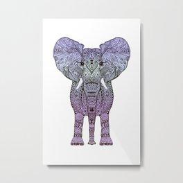 ELEPHANT ELEPHANT ELEPHANT Metal Print