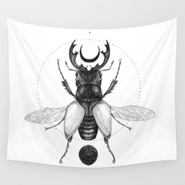 Sun Beetle Wall Tapestry