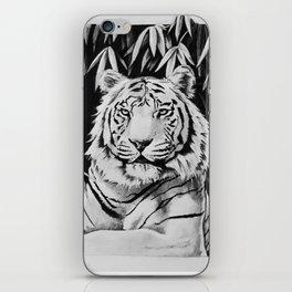 Endangered White Tiger iPhone Skin