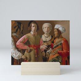 The Fortune Teller by Georges de La Tour Mini Art Print