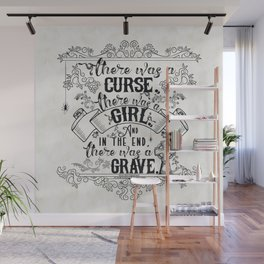 Beautiful Creatures - Grave - White Wall Mural