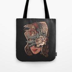 Aztec Eagle Warrior Tote Bag