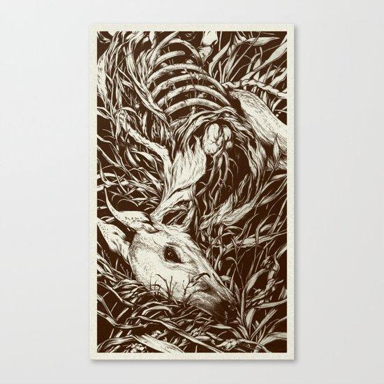 doe-eyed Canvas Print