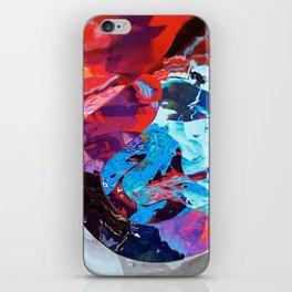 Divine teardrop iPhone Skin