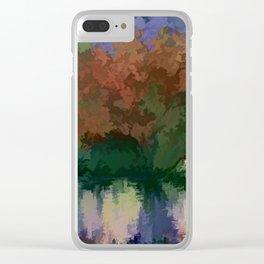 Rippled Sunset – 2 Clear iPhone Case