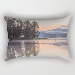 Sheridan Lake Sunset Reflections Rectangular Pillow
