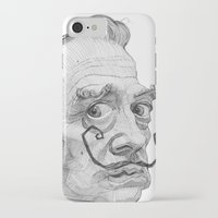 salvador dali iPhone & iPod Cases featuring Salvador Dali by Stavros Damos
