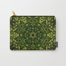 Mossy Flower Carry-All Pouch