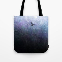 Flight of the Ravens Tote Bag