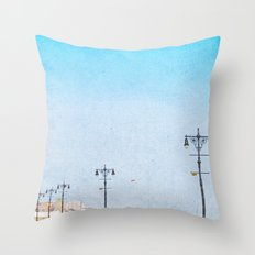 Brooklyn's Eiffel Tower Throw Pillow