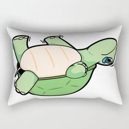 Little Turtle Down! Help Him! Rectangular Pillow