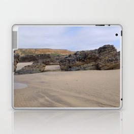 Godrecy Beach Cornwall Engand Laptop & iPad Skin