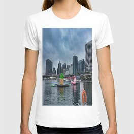 Darling Harbour Pineapple And Flaming T-shirt
