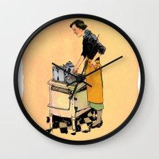 Saint Julia, Patroness of Kitchens Wall Clock