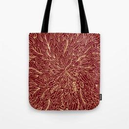 Warm Autumn Leaves Tote Bag