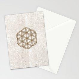 De Ludo Geometrico • Flower of Life Stationery Cards