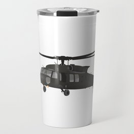 UH-60 Military Helicopter Travel Mug