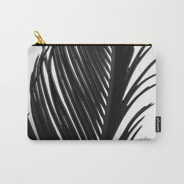 Palm: The Abstract in Black Carry-All Pouch
