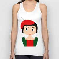 amelie Tank Tops featuring Amelie by Creo tu mundo