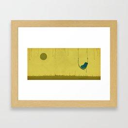 Hammock_dude Framed Art Print