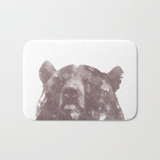 Winter Bear Bath Mat