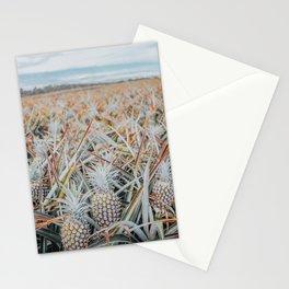 Maui Gold Pineapple Fields, Maui, Hawaii #1 Stationery Cards