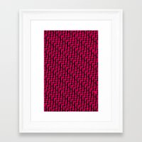 the strokes Framed Art Prints featuring Strokes by Susan Marie